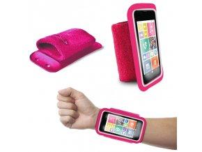"""Pouzdro na ruku PURO 4.3"""" růžové"""