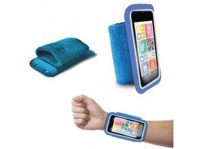 "Pouzdro na ruku PURO 4.3"" modré"