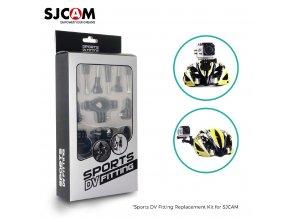 Sada SJCAM Sports DV Fitting mix držáků pro kamery