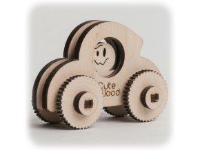 CuteWood Dřevěné 3D puzzle Mini-brouk