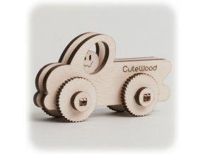 CuteWood Dřevěné 3D puzzle Pick-up