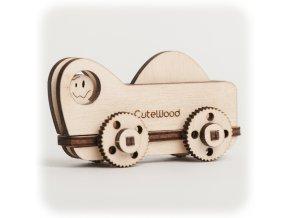 CuteWood Dřevěné 3D puzzle Kamion 1