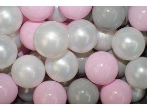NELLYS Náhradní balónky do bazénu - 200 ks, mix III