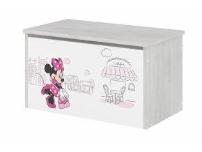 BabyBoo Box na hračky s motivem Minnie Paris