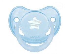 Dudlík Canpol Babies - Pastel 18m+ - modrý/mátový