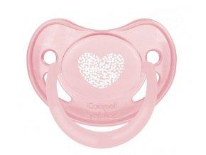 Dudlík Canpol Babies - Pastel 6-18m - růžový