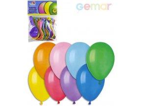 GEMAR Balónky nafukovací 21cm Pastelové barevné set 20ks v sáčku