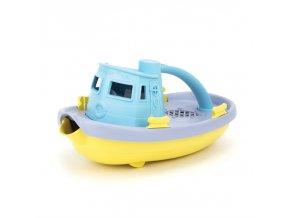 Green Toys Loďka modro žlutá