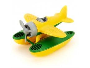 Green Toys Hydroplán žlutý
