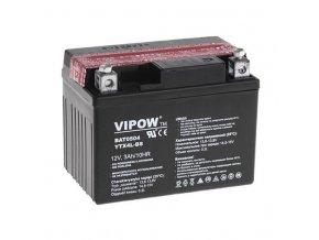 Baterie motocyklová 12V 3Ah VIPOW