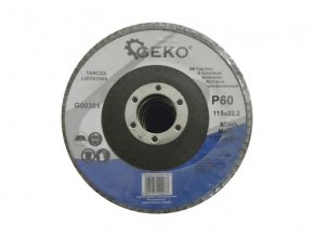 Kotouč lamelový 115mm P60 GEKO G00301