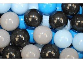 NELLYS Náhradní balónky do bazénu - 200 ks, mix IV