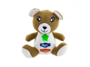 Euro Baby Interaktivní hračka s melodií - Medvídek