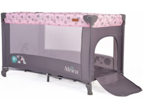 Cangaroo Dětská ohrádka Africa - růžová