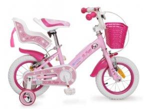 Byox Dětské kolo Puppy 12, růžové