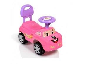 Moni Dětské odrážedlo, odstrkovadlo Keep Riding - růžové