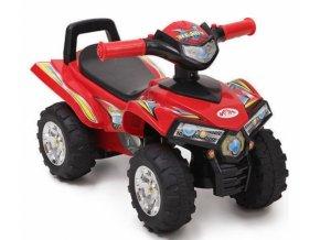 Moni Dětské odrážedlo, odstrkovadlo ATV 551 - červené