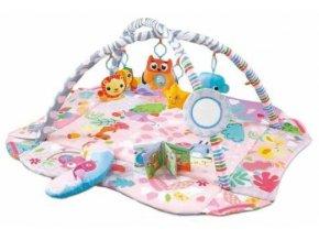 Cangaroo Dětská hrací podložka Oasis, růžová