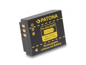 Baterie Panasonic CGA-S007E Li-Ion 1000mAh PATONA PT1043