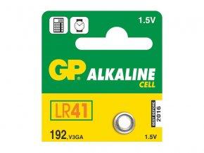Baterie LR41 (192) GP alkalická