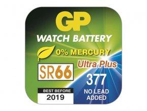 Baterie knoflíková do hodinek GP 377F