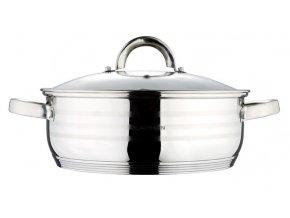 Pekáč / hrnec s poklicí nerez 24 cm Gourmet Line BLAUMANN BL-1003