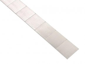 Reflexní páska samolepící dělená 1m x 5cm bílá COMPASS 01545