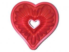 Forma 4L srdce na bábovku