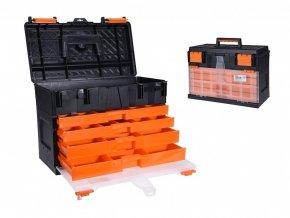 Box na nářadí s organizérem 45 x 26 x 32 cm EXCELLENT KO-Y98010940