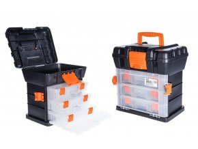 Box na nářadí s organizérem 34 x 26 x 35 cm EXCELLENT KO-Y98310090