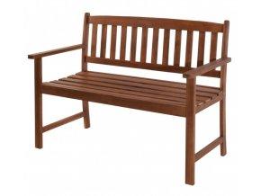 Zahradní lavice PORTO akátové dřevo 110 x 66 x 86 cm