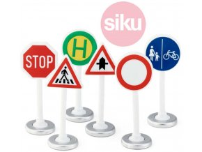 SIKU Dopravní značky pro autíčka 0857