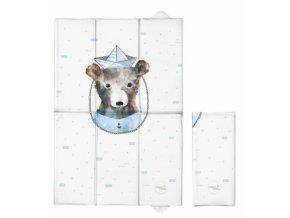 Ceba Baby Cestovní přebalovací podložka Medvídek Námořník, 60 x 40 cm
