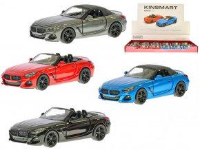 KINSMART Auto model 1:34 BMW Z4 kov PB 13cm 2 druhy 2 barvy