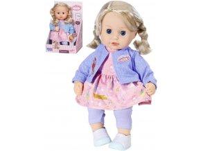 ZAPF BABY ANNABELL Panenka miminko Little Sophia 36cm textilní