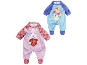 ZAPF Baby Born obleček overal sametový pro panenku miminko 2 druhy