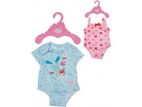 ZAPF BABY BORN Body obleček pro panenku miminko s ramínkem 2 druhy