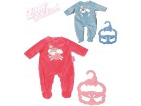 ZAPF Baby Annabell set dupačky + ramínko obleček pro panenku miminko 2 barvy