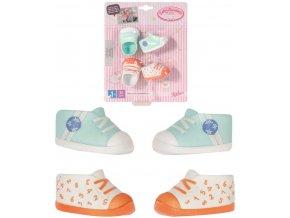 ZAPF BABY ANNABELL Botičky set 2 páry pro panenku miminko na kartě