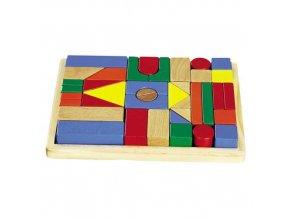 HJ Toys Dřevěné kostky