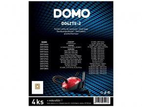 Sáčky do vysavače DOMO DO42TS-2 4ks