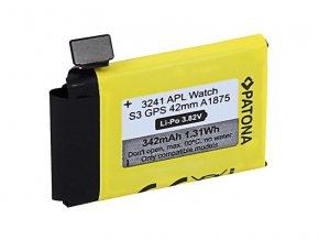 Baterie Apple Watch 3 GPS 342mAh A1875 42mm PATONA PT3241