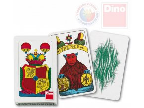 DINO HRA Karty hrací jednohlavé Mariáš *SPOLEČENSKÉ HRY*