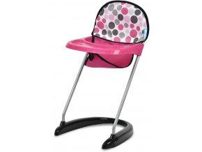 HAUCK Baby jídelní židlička pro panenku miminko do 46cm s podavačem jídla