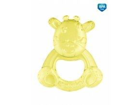 Canpol babies Kousátko vodní Žirafka - žlutá