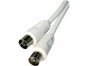 5394 antenni koaxialni kabel stineny 5m rovne vidlice emos sd3005