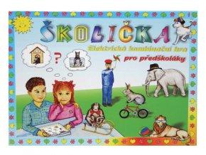 Hra vzdělávací Školička