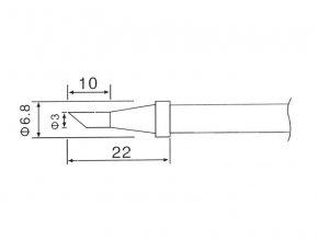 Hrot C1-3 (ZD-30C,ZD-99,ZD-8906,ZD-8906L)