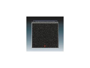 5561 kryt jednoduchy s cervenym pruzorem onyx kourova cerna 3559h a00655 63