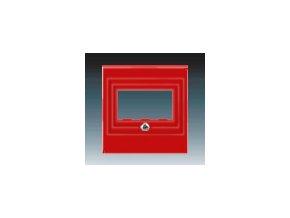 5581 kryt zasuvky reproduktorove prime usb cervena 5014h a00040 65